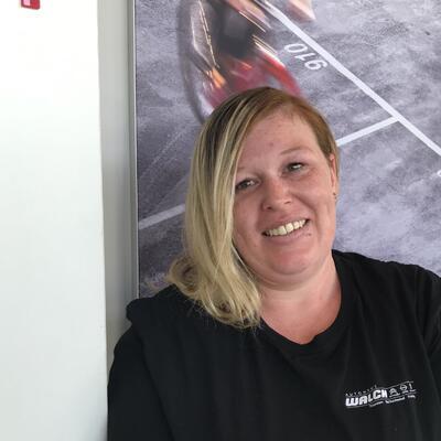 Verena Lindner - Serviceassistentin